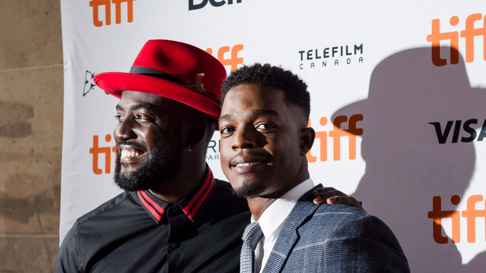 Shamier Anderson and Stephan James