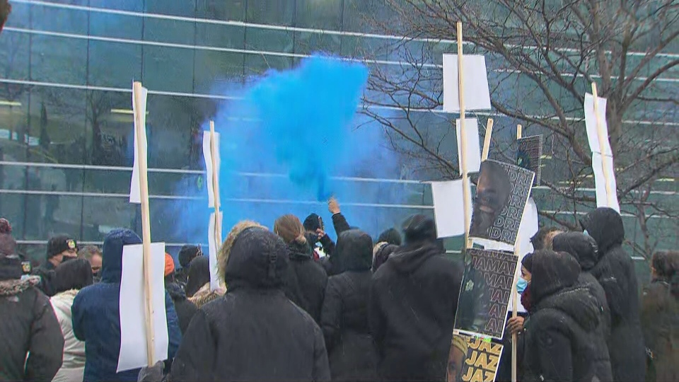 Protes polisi
