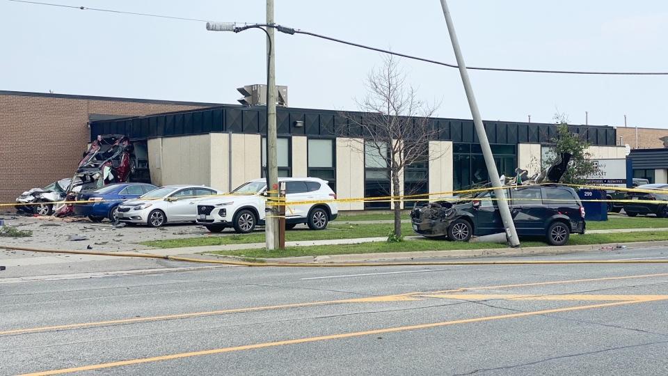 Carlingview Drive crash