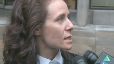 Mary Cremer, defence lawyer for Malcom Chalmers, told reporters on Wednesday, Nov. 25, 2009 that her client insists he is innocent.