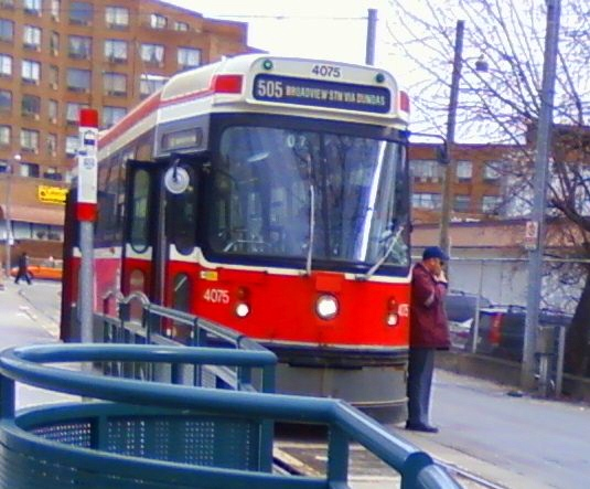 Joseph Regaldo published this photo to MyNews apparently showing a TTC employee having a smoke on TTC property.