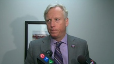 Mayor David Miller showed his exasperation on Friday, March 26, 2010 with the province's plan to delay construction of parts of Transit City.