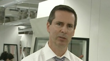 Premier Dalton McGuinty said on Friday, March 26, 2010 that his world has changed and he can no longer fund transit development at the pace Toronto wants.