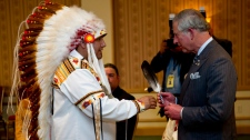 Prince Charles meets with native leaders in Toronto, on Tuesday, May 22, 2012. (Paul Chiasson / THE CANADIAN PRESS)