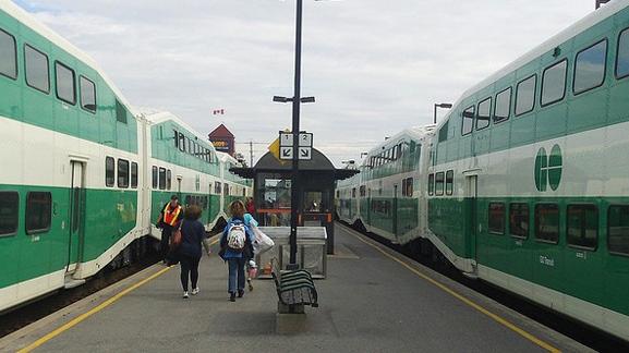 GO Train Station