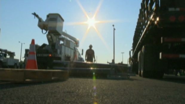 CTV Toronto: Hydro crews help with U.S blackouts