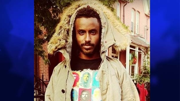 Abdulle Elmi, 25, is pictured in an undated photo provided by Toronto police. Elmi was fatally shot in Etobicoke early Thursday, July 5, 2012. (Toronto Police)