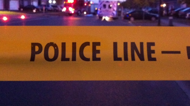 Police tape is pictured in this file photo (CP24/Tom Stefanac)