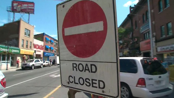Much of the Danforth will be closed for the Taste of the Danforth Street festival, which runs until late on Sunday, Aug. 8, 2010.