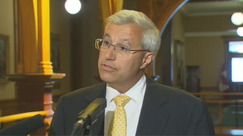 Vic Fedeli, energy critic for the Ontario Progressive Conservatives, says the government needs to clarify how much was spent on a cancelled Oakville power plant, on Monday, July 30, 2012.