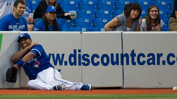 Toronto Blue Jays left fielder Edwin Encarnacion