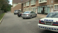 Forensic investigators searched a Scarborough, Ont. hotel room