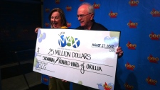Susannah and Ron Higgs Lotto Max