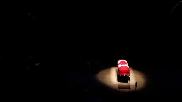 Jack Layton funeral