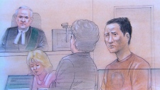 Chin Qi Jiang, 40, appears in a Brampton court
