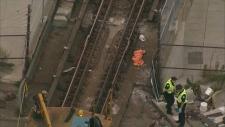TTC worker killed by maintenance train