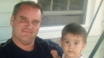 Paul Compton and his son Mateo are shown in a family handout photo. Mateo was born in Lima, Peru, just five months after a revamp of the Citizenship Act last April brought a first-generation limit to citizenship by descent for Canadians born abroad. (THE CANADIAN PRESS/HO)