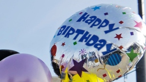 Balloons are pictured. (AP/The Day, Sean D. Elliot)