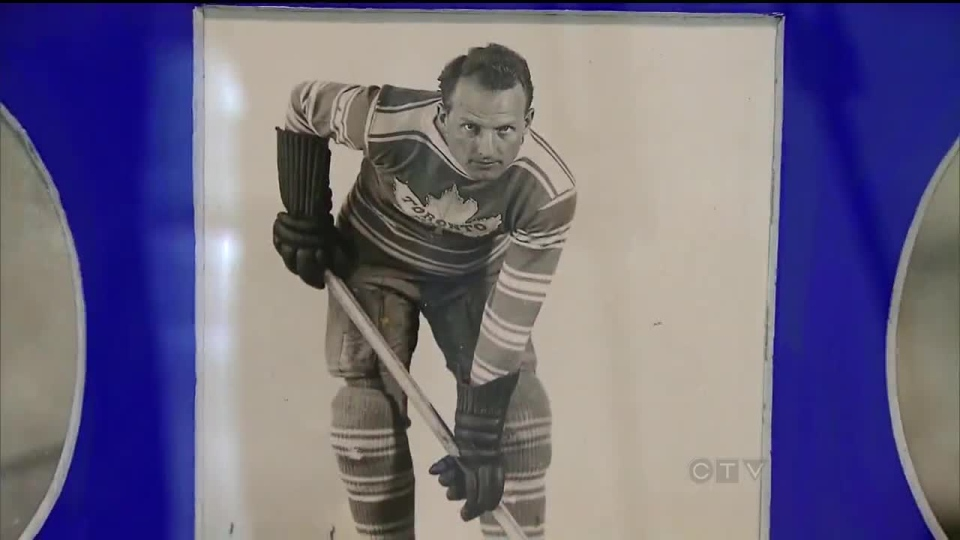 Hundreds of items from Maple Leaf Gardens are up for auction, including old photographs, locker room doors and the 1967 Stanley Cup banner.